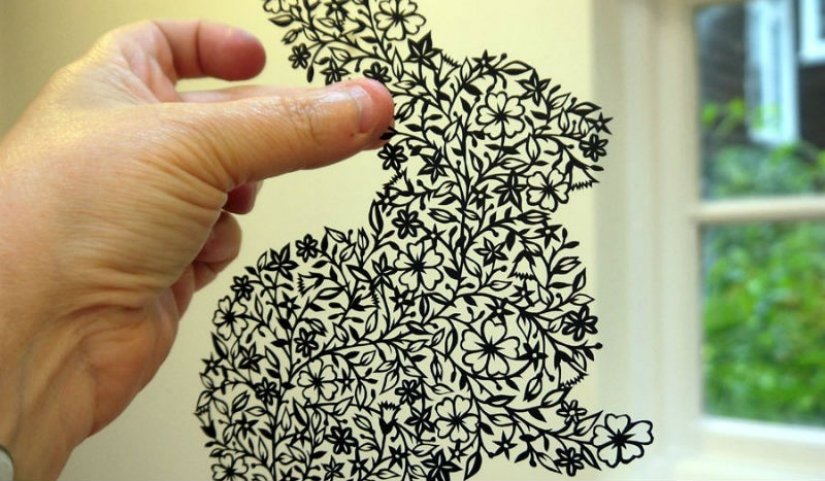 10 geniuses who cut paper amazing masterpieces