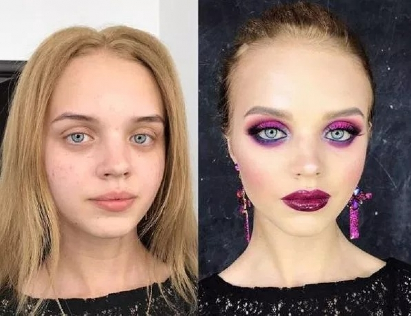 10 miraculous transformations with makeup
