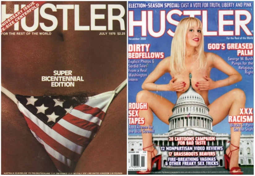 10 most controversial covers of Hustler magazine