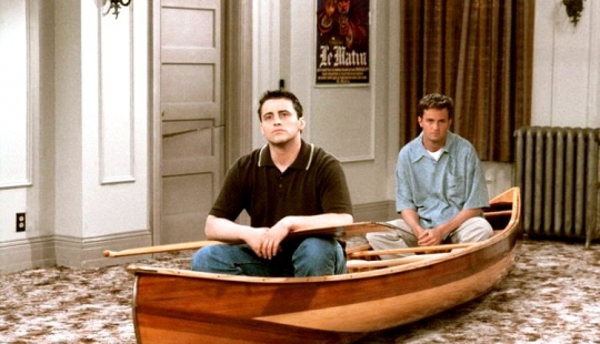 "10 nuances of the series ""Friends"", that you 100% didn't notice"