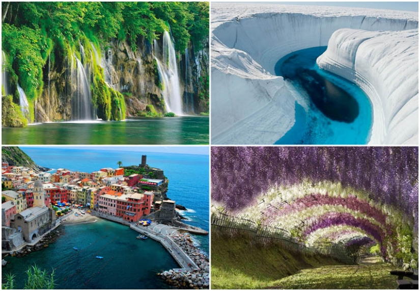 10 places of unearthly beauty that actually exist on Earth