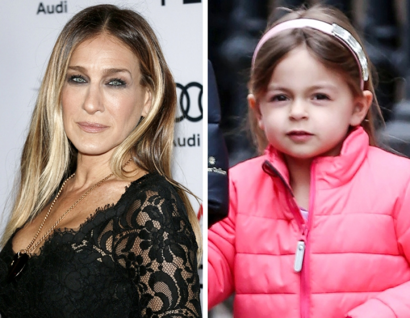 11 daughters of famous women who don't like their mothers, but they have their charm
