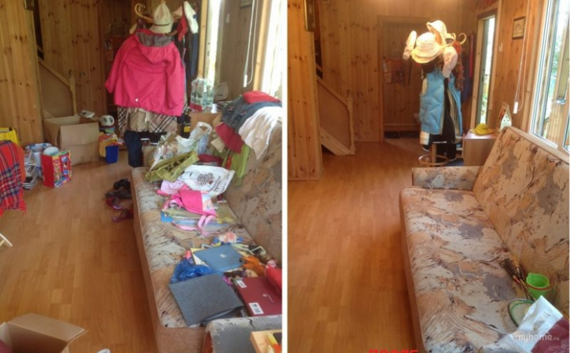 20 photos before and after, looking at that you'll want to clean up
