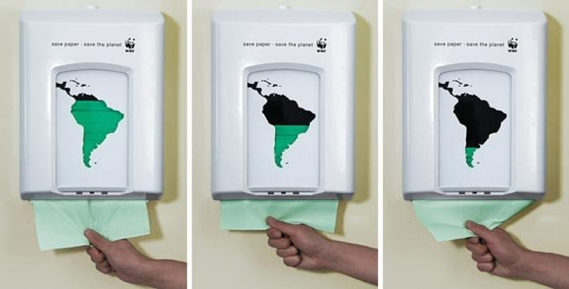 25 examples of brilliant ads, perfectly inscribed in the urban jungle