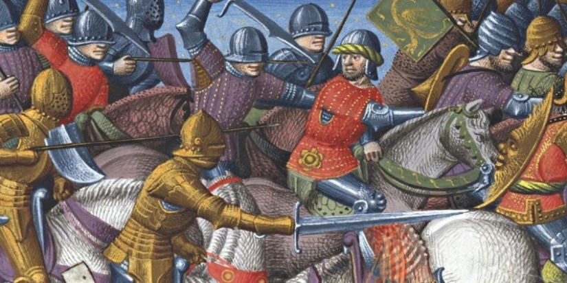5 of the most crazy warriors of the middle Ages