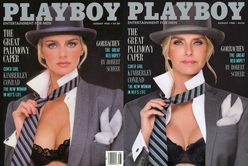 7 models Playboy has recreated his famous cover