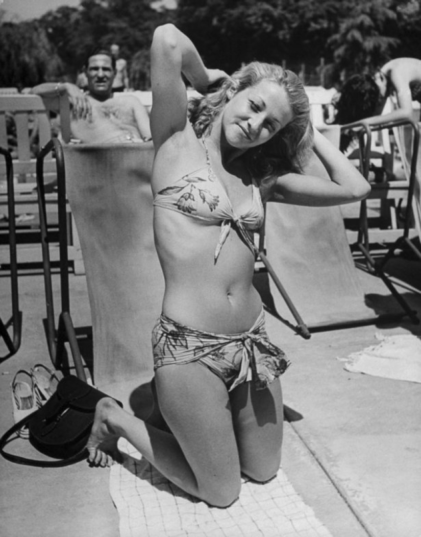 73 years ago there was the smallest swimsuit in the world — bikini