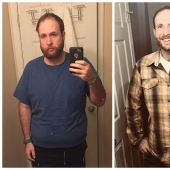 A former alcoholic showed as changed over the 3 years of sobriety, and the result is impressive!