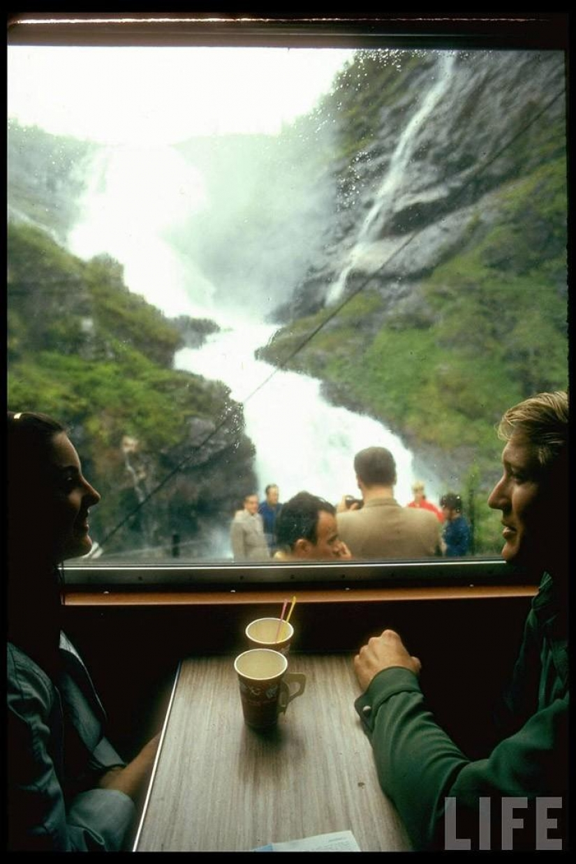 A trip to Europe in 1970 on the train