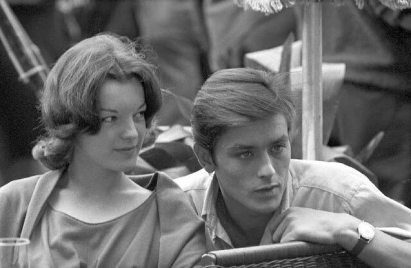 Alain Delon and Romy Schneider: a love story