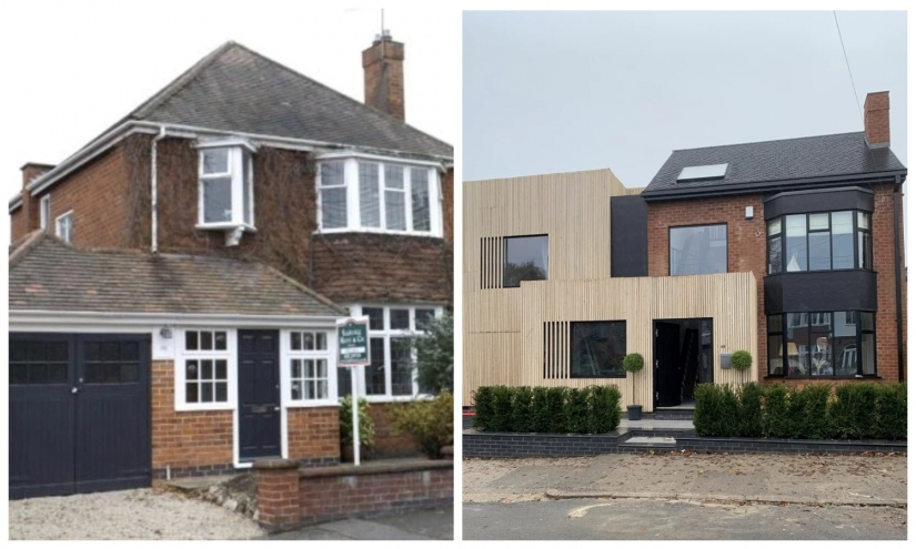 Amazing transformation: the British transformed the old house into a luxury mansion