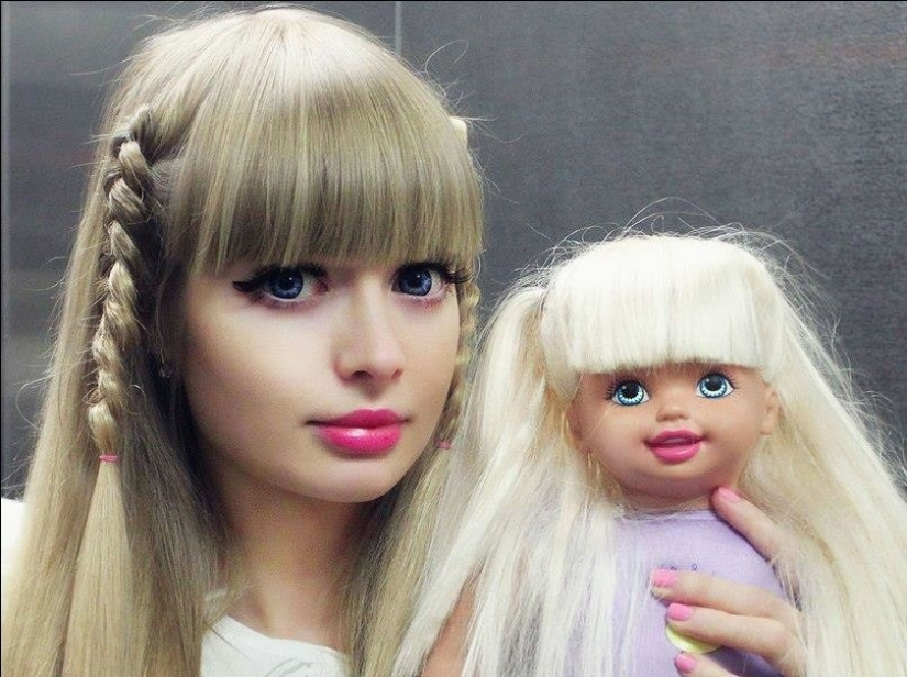 Angelica Kenova — the girl from which parents made a living Barbie doll