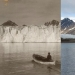 As melting the Arctic: an impressive comparison shots of the XX century and modern