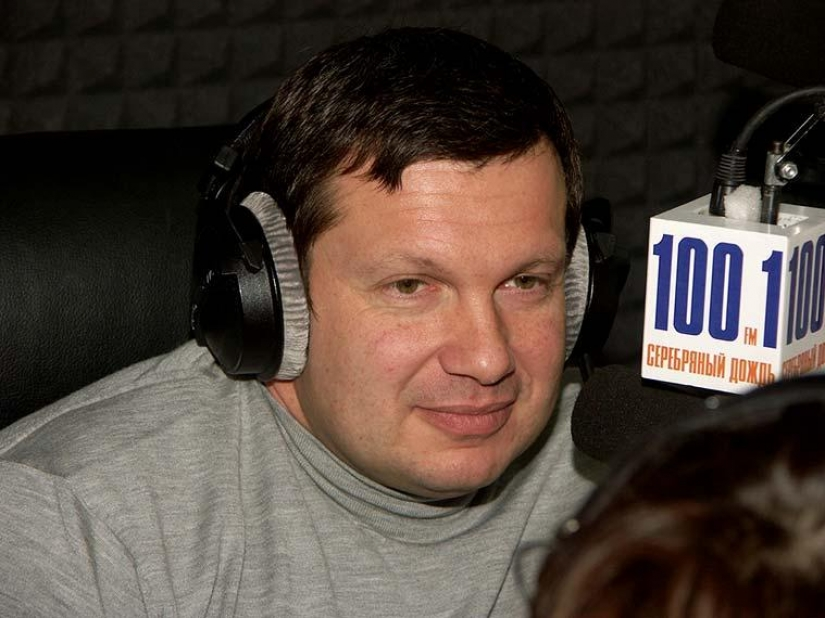 As the TV host Vladimir Solovyov managed to lose weight nearly twice