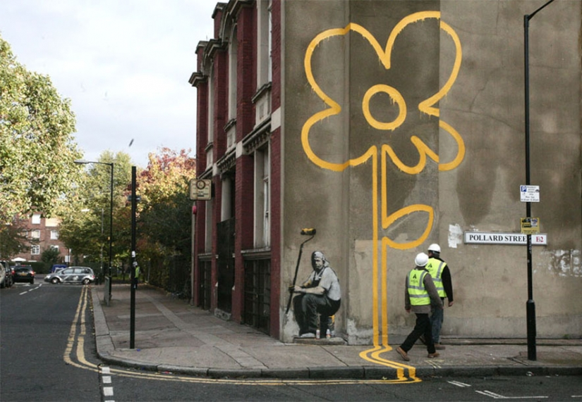 Banksy — the most mysterious and controversial master graffiti
