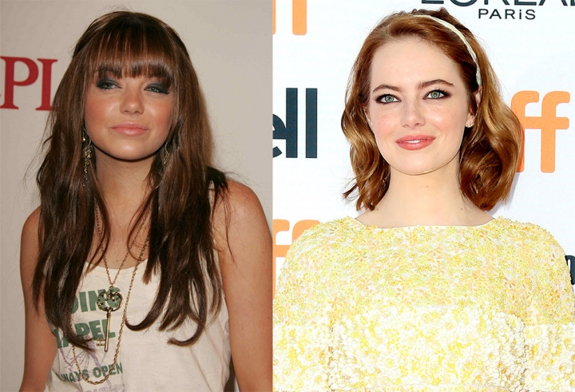 Before and after: the stylists have done with the stars