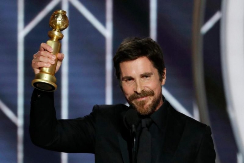 Christian bale continues his transformation from slender to thick superhero politics