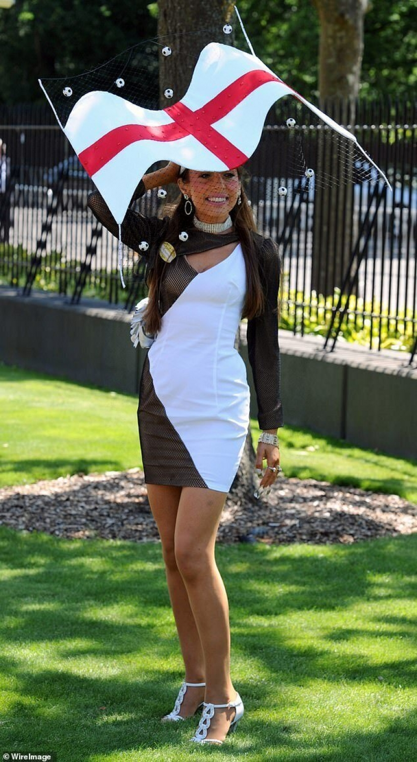 Designer hats is a British women to attend the races at Ascot remotely and push the boat out new things