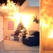 Elochka, Gori! New year's beauty can transform a room into a pile of ashes 23 seconds