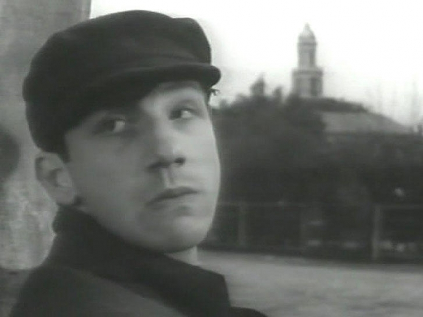 First role in a movie favorite Soviet actors