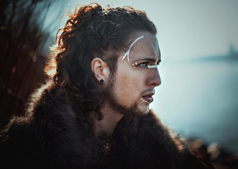Harsh beauty: 25 brutal ideas of hairstyles for the modern Viking