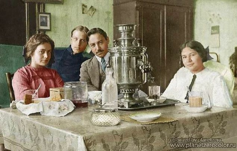 History in color: photos of Russia in the early XX century, after colorization