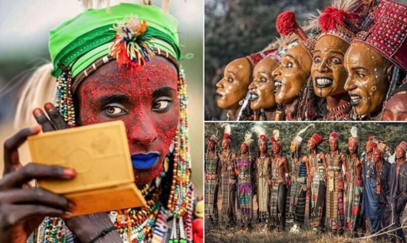 How is a beauty pageant among the men of the tribe wodaabe who judge teen girls