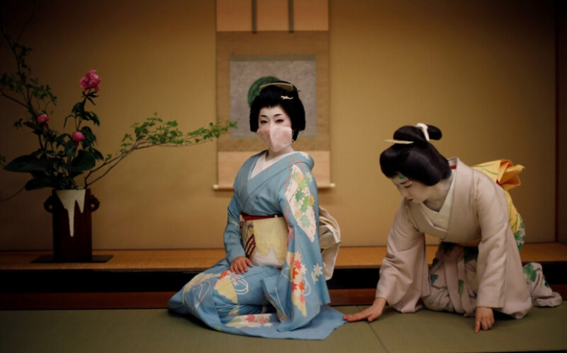 How Japanese geisha are fighting for survival during a pandemic coronavirus