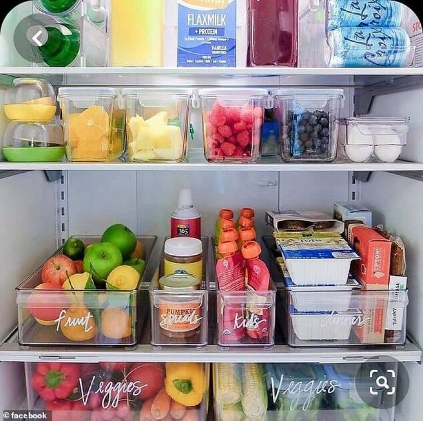 How to put things in the fridge is immaculate: the secrets of experienced Housewives