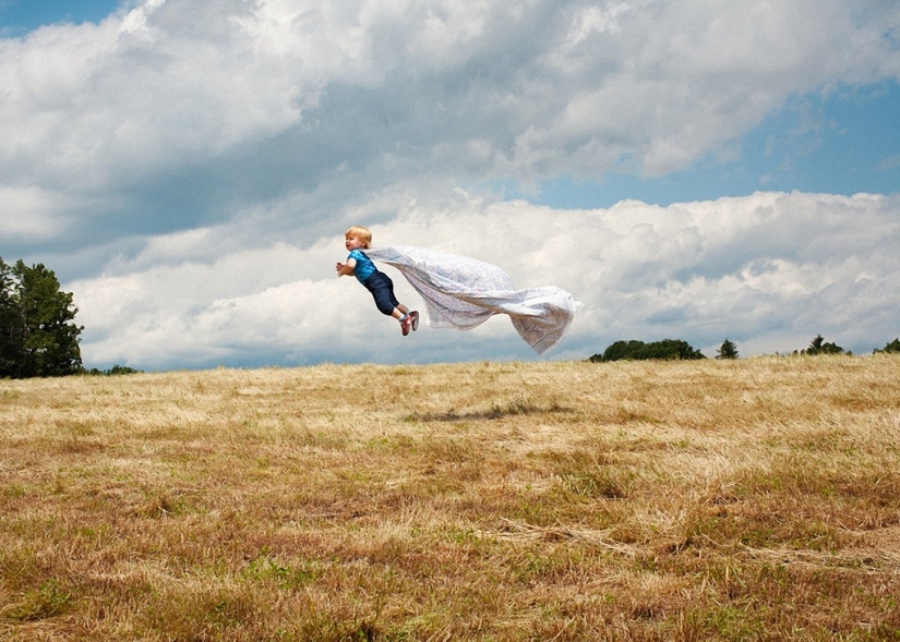 If the children flew: positive sequence bored on maternity leave Rachel Gulin