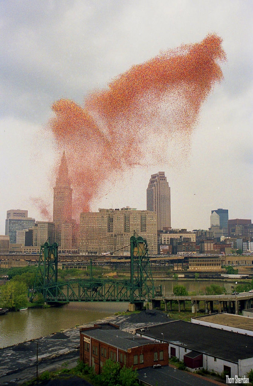 In 1986, Cleveland was attacked... balls