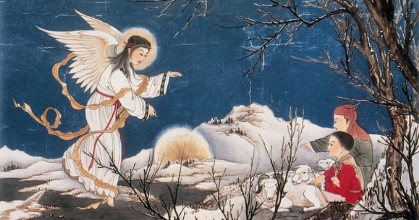 Japanese Christian icons: the images in the interpretation