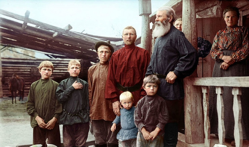 Like today: 11 color photographs of the Russian Empire and the Soviet Union