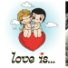 """Love is..."": history of creation of cute comics about love"