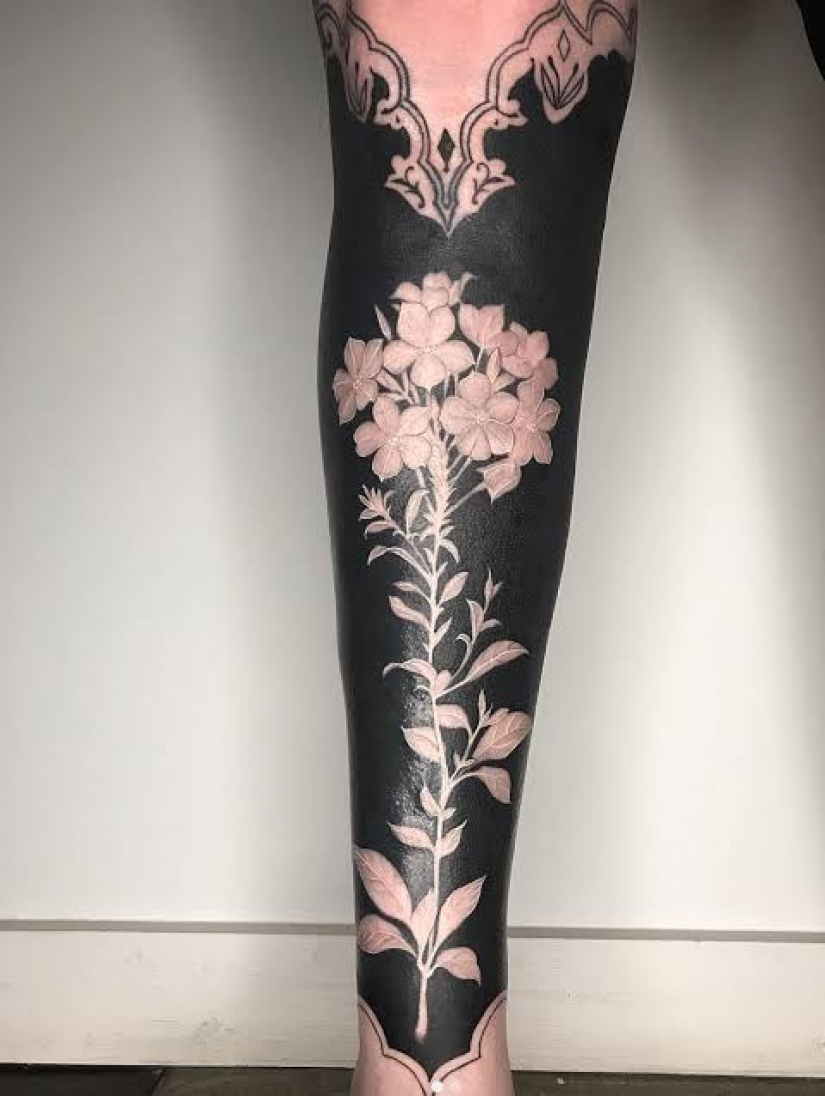 Masterpieces on the body: exquisite floral tattoo from Esther Garcia