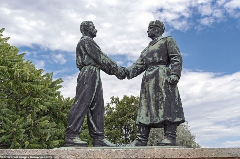 "Monuments of the socialist era from the Park-Museum ""memento"" in Hungary"