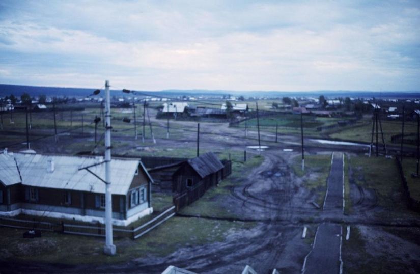 Moscow — Siberia — Japan in 1980