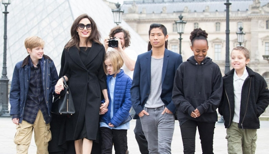 New perspectives: Angelina Jolie openly told how her children have changed