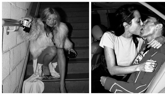 On the way to fame: unknown photos of stars including drunk Kate moss and intimate scenes of Angelina Jolie