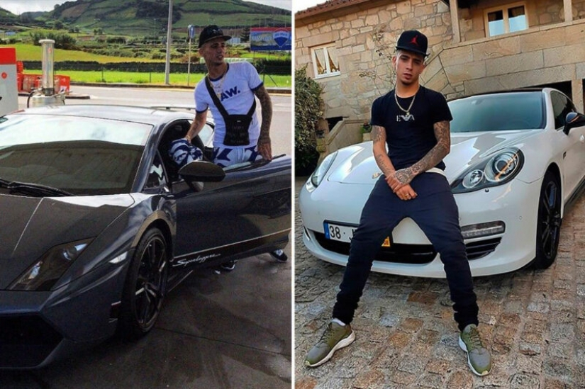 Ponty killing: as photo supercars with other people's money and killed poor rapper from Portugal