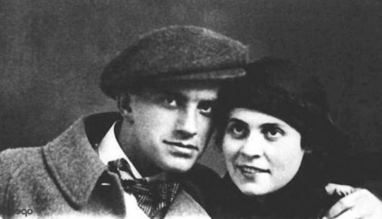Shocking scenes from the life of a Muse of Mayakovsky