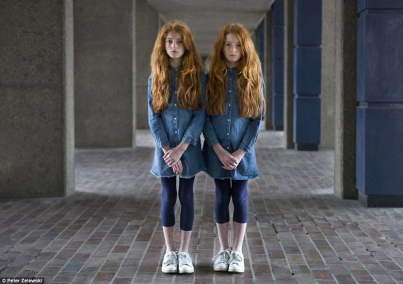So similar, but so different: 20 incredible portraits of twins
