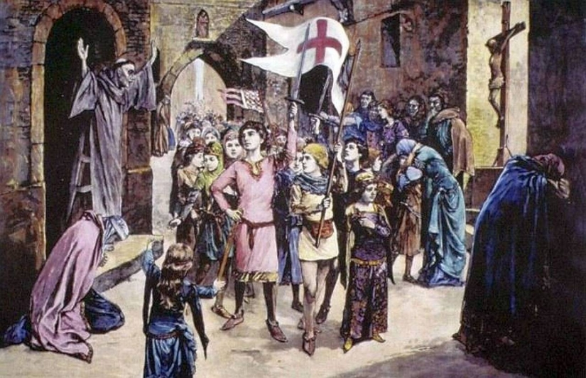 Sold into slavery and killed in the Alps, what was the end of children's crusade, the terrible adventure of the middle Ages