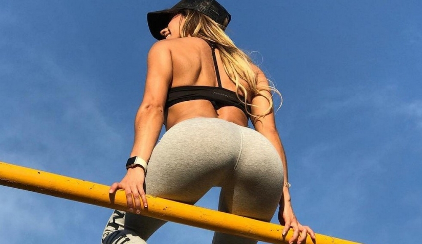 Sport is beautiful: 20 pictures of slim girls in tights