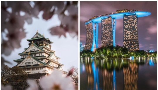 Stunning Asian architecture: from the medieval Japanese castles to skyscrapers