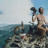 Surrealist Erik Thor Sandberg: balancing on the turn of Vice and virtue