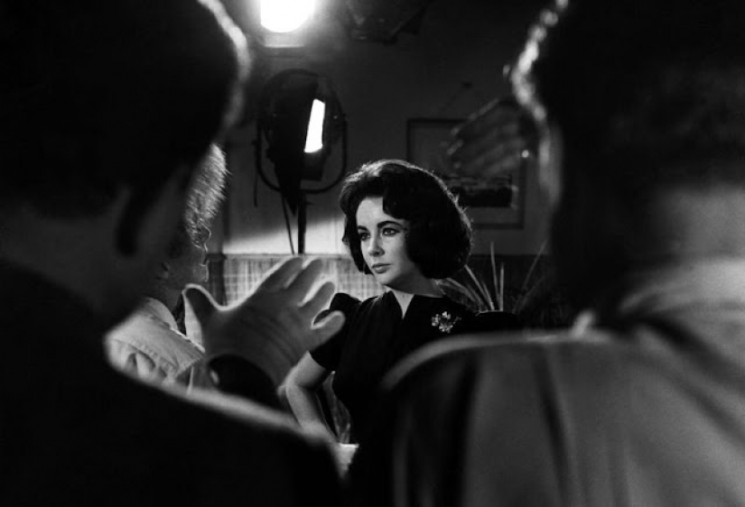 The beautiful Elizabeth Taylor in her Prime: rare photos from the filming of 1959