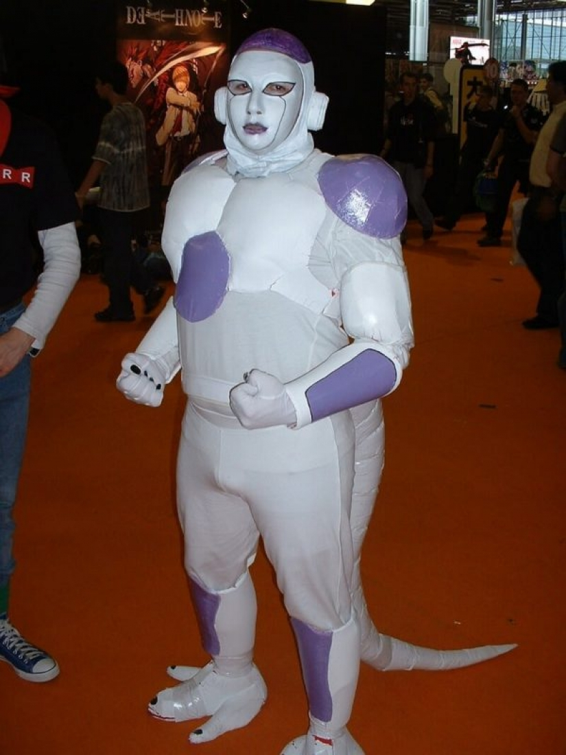 The cosplayers, who were unable: 20 photos of disastrous costumes
