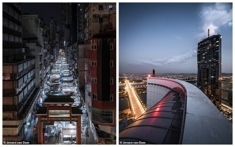 The exciting world of urban architecture with unexpected perspectives