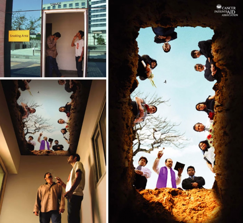 The most convincing examples of anti-Smoking advertising that you have ever seen